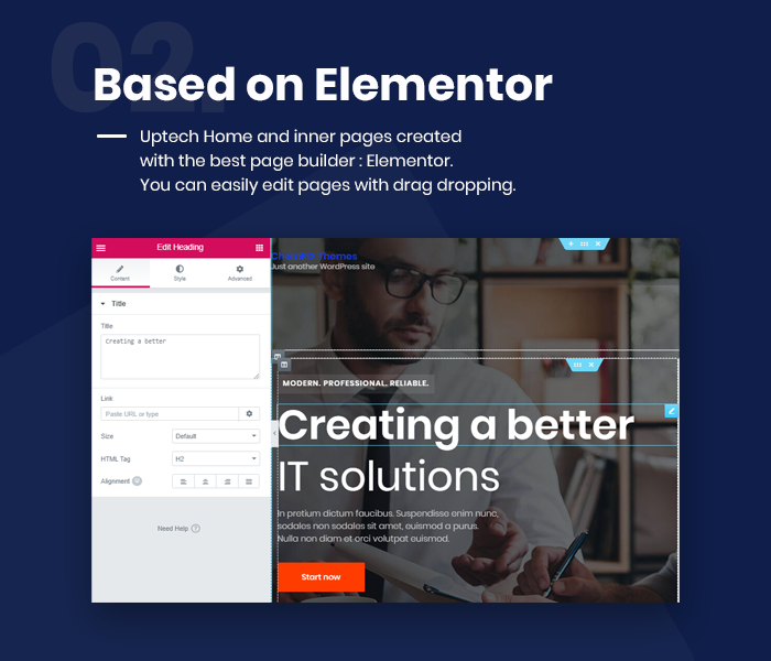 Uptech -  IT Solutions & Services WordPress Theme - 7